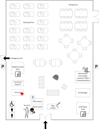 Sample Floor Plan Introduction To Group Lodging Sample Floor Plan