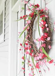 diy front door wreath in 3 quick steps and 10 minutes u2013 at home
