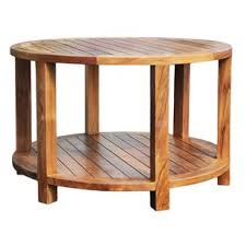 Rustic Teak Coffee Table Rustic Teak Tables You Ll Wayfair