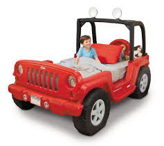 car jeep little tikes jeep wrangler toddler to twin bed toys