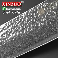 japanese damascus kitchen knives 2015 new 8 chef knife 73 layers japanese damascus steel kitchen