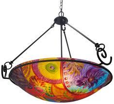 Orange Glass Chandelier Jenny Floravita U0027s Reverse Painted Glass Chandeliers Call 925 625 7969