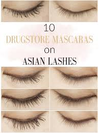 How To Curl Your Eyelashes Major Review 10 Drugstore Mascaras On My Asian Lashes