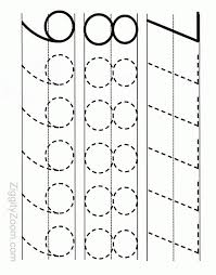 alphabet worksheets for preschoolers printable number tracing