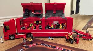 lego ferrari truck lego nitro neo