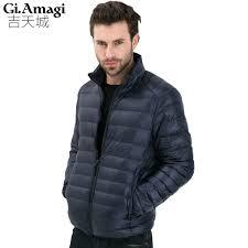 plus size light jacket 2017 autumn winter duck down jacket ultra light thin plus size