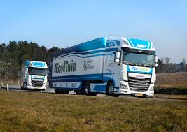 ecotwin u0027 participating in the european truck platooning challenge