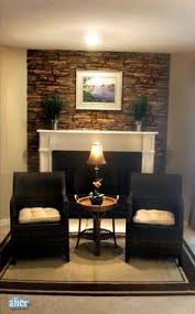 Stacked Stone Around Fireplace by Fireplace Prepped For Stack Stone Stacked Stone Fireplaces