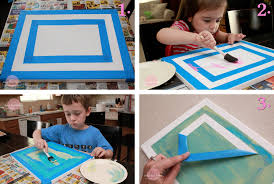 home design painting ideas for kids on canvas craft room gym