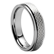 celtic wedding band tungsten carbide celtic mens wedding band ring unisex 7mm