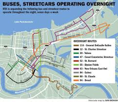 New Orleans City Map by Transit Service In New Orleans Gets Major Expansion Sunday State