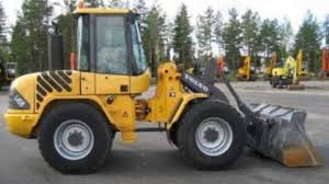 volvo l45b compact wheel loader service parts catalogue manual
