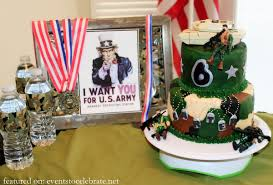army birthday party ideas archives events to celebrate