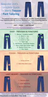 trouser pant tailoring guide for best fit u0026 comfort
