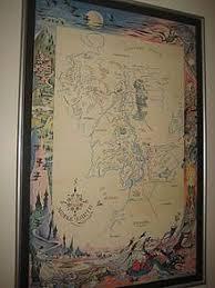 a map of middle earth a map of middle earth