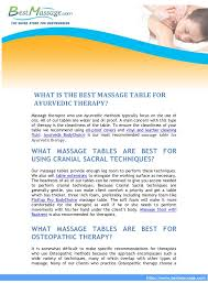 what is the best massage table to buy massage table buyers guide