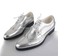 wedding shoes groom silver gold men leather groom wedding shoes fashion leisure men s