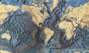 Ocean Map World by World Ocean Floor Map Earthly Mission