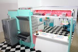 pippaloo for dolls a 1950 u0027s diner mash up