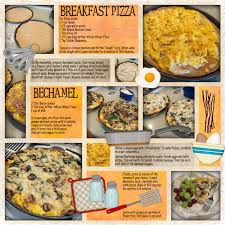 scrapbooking cuisine i like the layout on this page cookbook breakfast