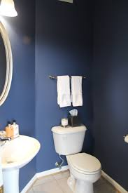 Dark Blue Powder Room English Channel U2013 Ittybittywhitty