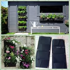 Outdoor Wall Planters by Online Buy Wholesale Plant Pockets Wall From China Plant Pockets