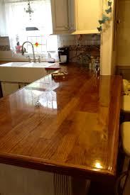 remodelaholic diy butcher block wood countertop reviews peggy pjh designs diy oak flooring countertop review