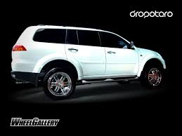white mitsubishi montero concept one wheels innovative technology