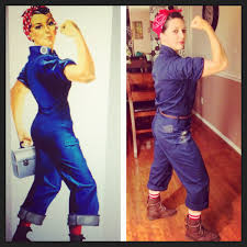 Disney Halloween Party Costume Ideas by Homemade Rosie The Riveter Halloween Costume Costumes