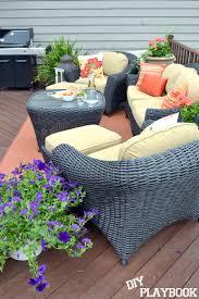 martha stewart living home decorators collection jan s outdoor retreat diy playbook