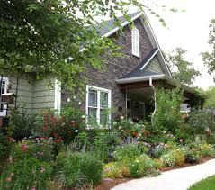 cottage garden inspiration landscape craftsman with shingle siding