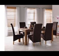 Homebase Chairs Dining Schreiber Woburn Solid Oak Dining Table U0026 8 Chairs From Homebase
