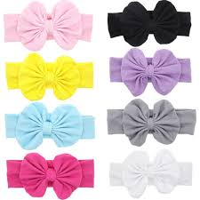 bow for hair mookiraer baby hair hoops headbands girl s soft