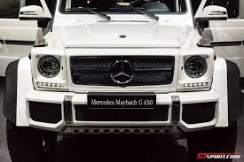 maybach car mercedes benz geneva 2017 mercedes maybach g650 landaulet gtspirit