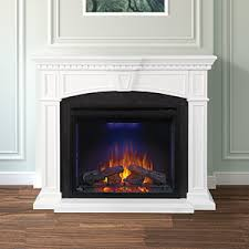 Electric Fireplace With Mantel Medium Electric Fireplace Mantel Packages