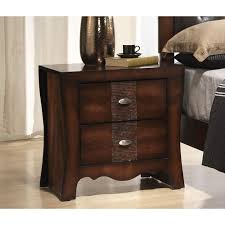 Curved Nightstand End Table Best 25 Espresso Nightstand Ideas On Pinterest Cherry