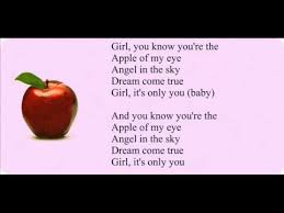g apple of my eye lyrics