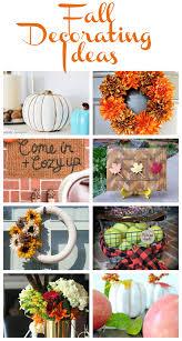 fall decorating ideas my uncommon slice of suburbia
