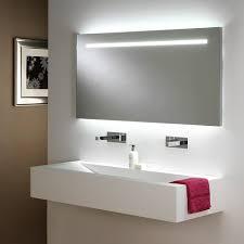 bathroom cabinets mirror lighting wall tech metro long bath