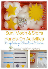 sun moon and on activities activities moon and learning