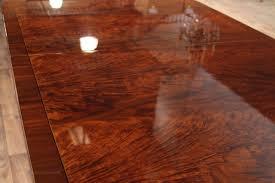 79 to 138 duncan phyfe mahogany dining room table with 3 mahogany