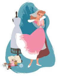 cinderella steve thompson art disney princess