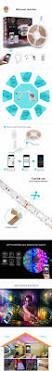 brg premium 5m waterproof ip65 smart home 24 key wi fi rgb led