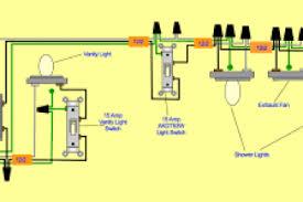 wiring diagram for bath fan with light wiring diagram