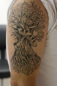 half sleeve family tree tattoos designs amazing
