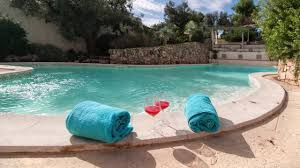 trullo tia puglia salento 1800s trullo with modern swimming