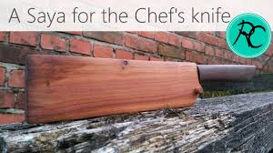 kitchen knives with sheaths make a saya a sheath for the chef s knife