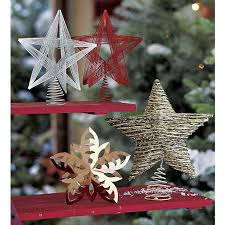 snowflake tree topper in sale christmas crate and barrel