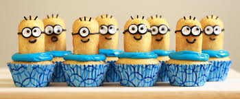 despicable me cupcakes from nerdy nummies yummy foods