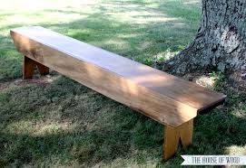 Easy Wood Bench Plans by Diy Pottery Barn Inspired Bench